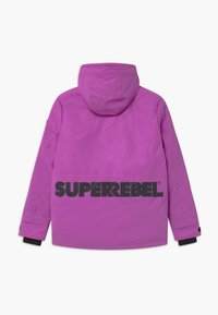 SuperRebel - TECHNICAL REFLECTIVE UNISEX - Snowboard jacket - purple - 1