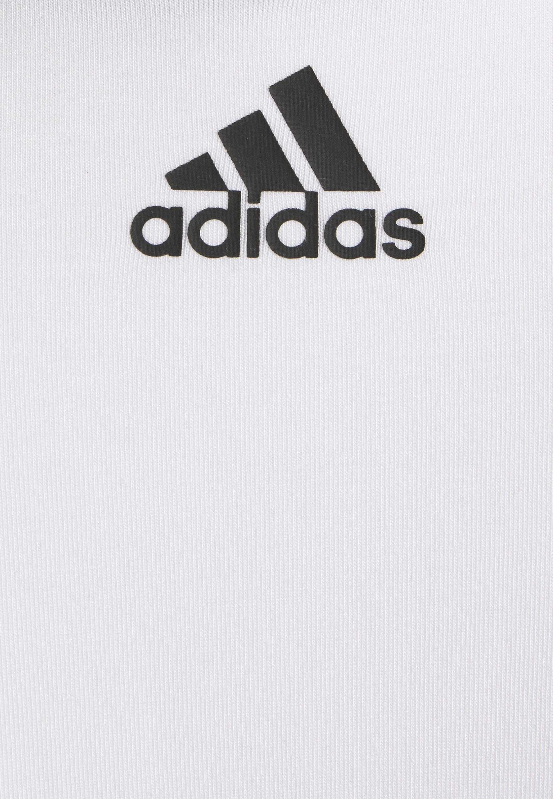 adidas Performance Long sleeved top - white/black FU2s0