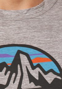 Patagonia - COOL DAILY GRAPHIC - Print T-shirt - grey - 2