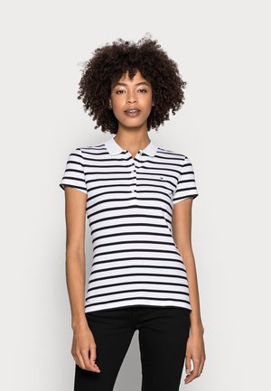 SHORT SLEEVE SLIM POLO - Polo shirt - white