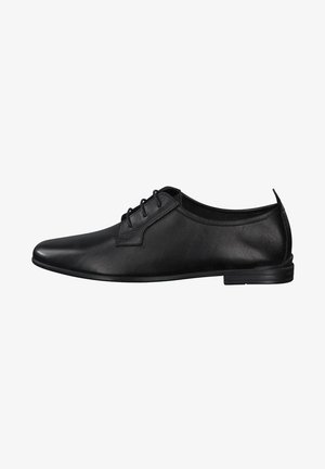 Casual lace-ups - black leather
