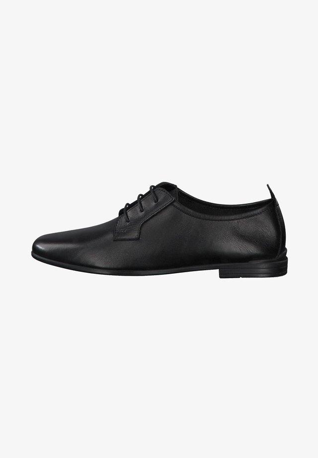 Chaussures à lacets - black leather