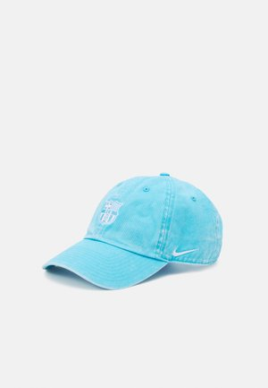FC BARCELONA WASHED UNISEX - Gorra - lagoon pulse/white