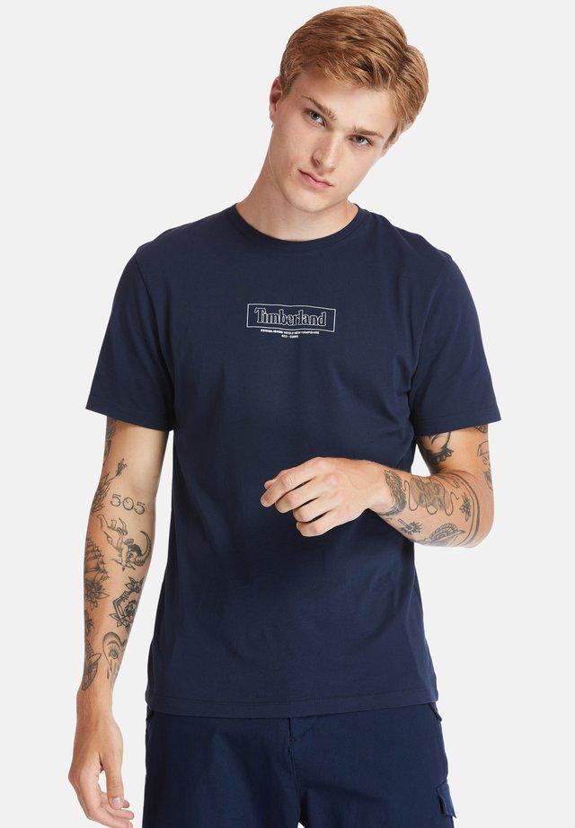 KENNEBEC RIVER - T-shirt con stampa - dark sapphire