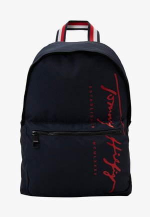 SIGNATURE BACKPACK - Rucksack - blue