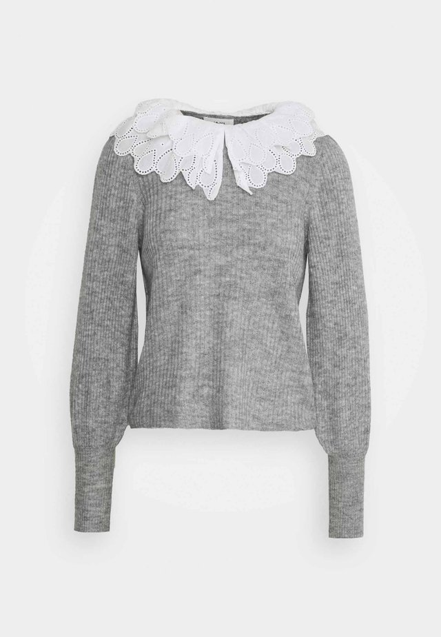 OBJGISELLE  - Pullover - medium grey melange