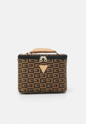 40TH ANNIVERSARY BEAUTY CASE - Handbag - brown