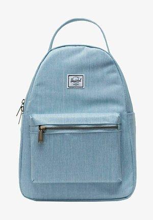 Backpack - light denim crosshatch