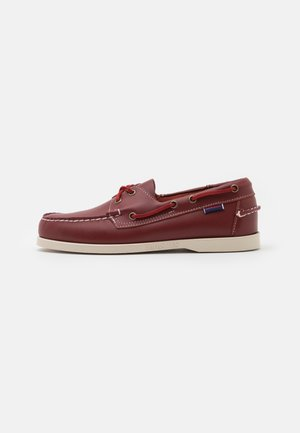 DOCKSIDES PORTLAND - Boat shoes - dark red
