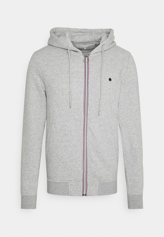 UNISEX MESNIL - veste en sweat zippée - grey