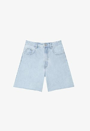 Jeansshort - light blue