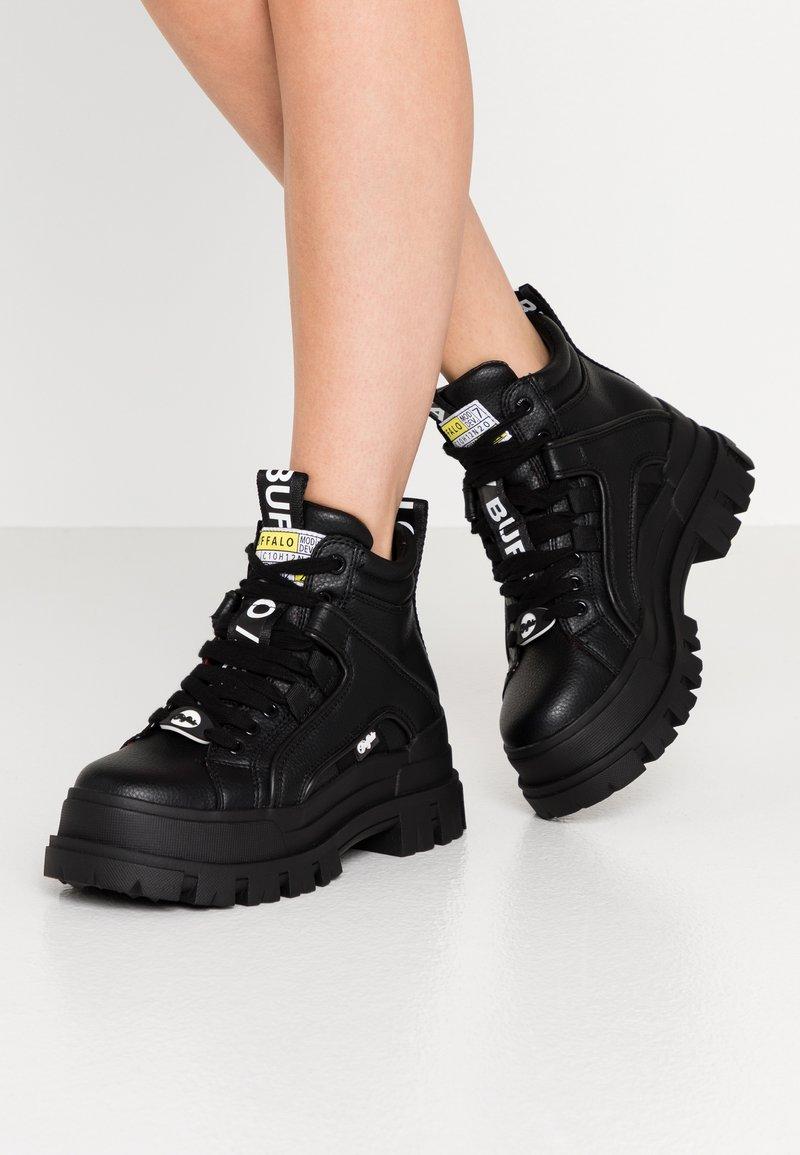 Buffalo - ASPHA MID - Ankle boots - black