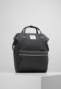 anello - TOTE BACKPACK COLOR BLOCK LARGE UNISEX - Rucksack - grey - 0