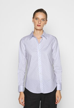 JAMELKO LONG SLEEVE - Blouse - white/estate blue