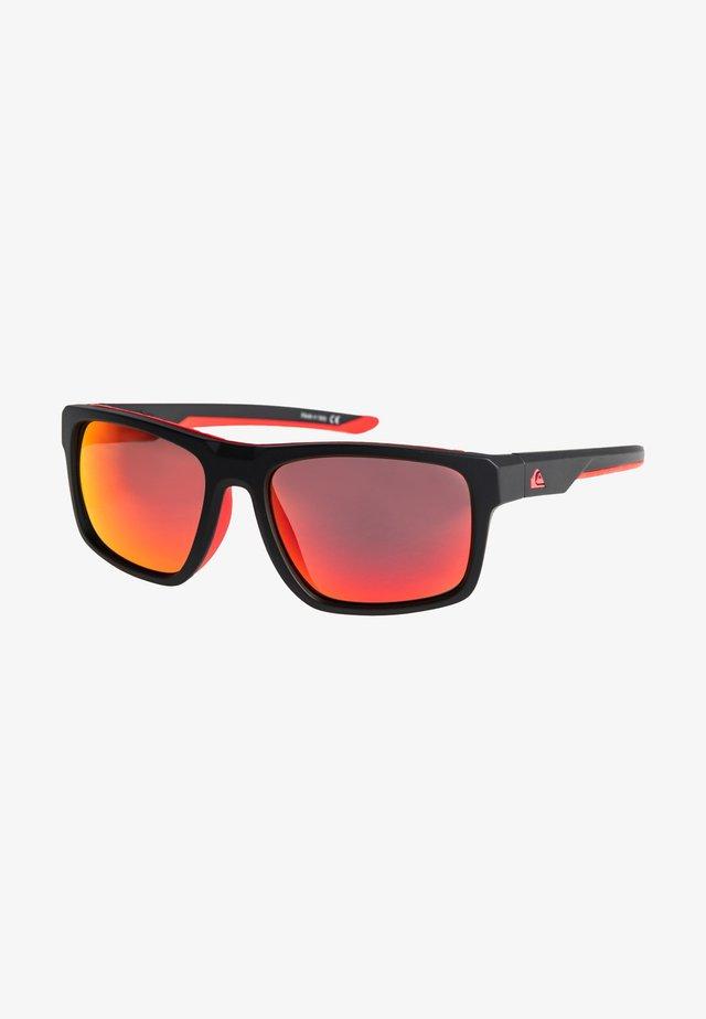 Sunglasses - matt black/ml red