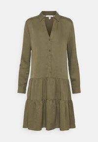 DRESS - Day dress - khaki green
