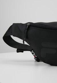 Fila - WAIST BAG SLIM - Bum bag - black - 7