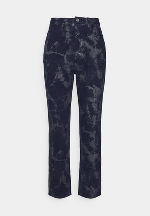 TIE DYE WRATH - Tracksuit bottoms - navy