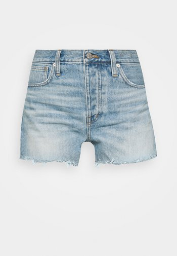 DENIM SHORT HEM DETAIL