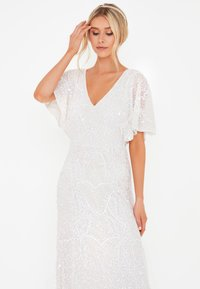BEAUUT - EMBELLISHED SEQUINS  - Occasion wear - ivory - 3