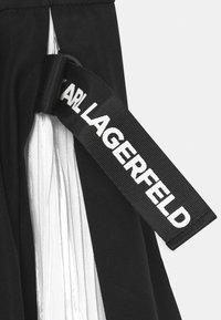 KARL LAGERFELD - Mini skirt - black - 2