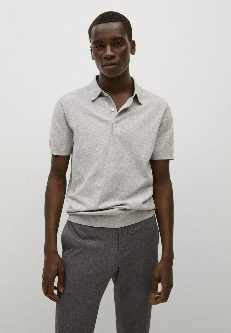 Mango - Poloshirt - gris