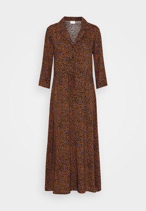 JDYSTAAR LIFE MID CALF DRESS - Shirt dress - brown