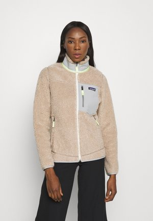 CLASSIC RETRO - Fleece jacket - natural/shroom taupe