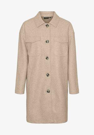 Classic coat - beige, mottled beige