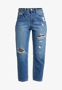 Miss Selfridge Petite - MOM - Straight leg jeans - blue - 3