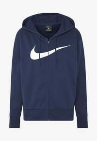 W NK DRY GET FIT FC FZ H ES GX - Sweatjacke - midnight navy/white