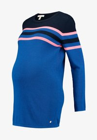 Esprit Maternity - SWEATER - Jumper - bright blue - 4