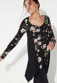 Tezenis - Long sleeved top - nero st.floral bouquet - 2