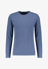 BOSS - TEMPEST - Long sleeved top - blau - 0