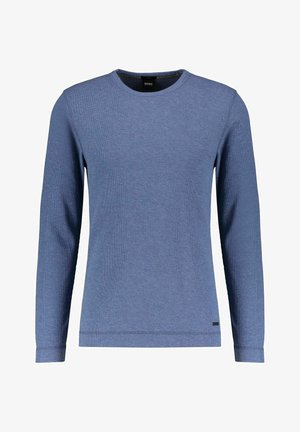 TEMPEST - Long sleeved top - blau