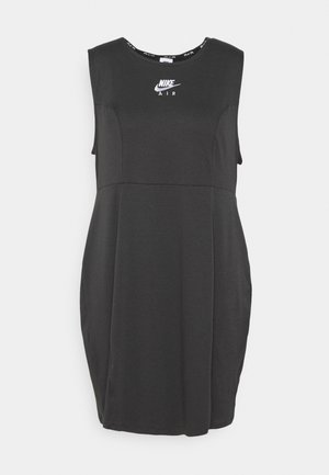AIR - Vestido informal - smoke grey/black/white