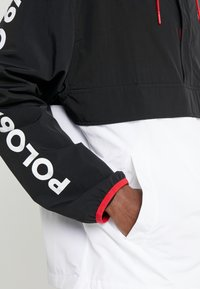Polo Ralph Lauren - WING HALF ZIP JACKET - Lehká bunda - black/ white - 6