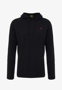 Polo Ralph Lauren - Mikina s kapucí - black/red - 4