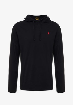 Kapuzenpullover - black/red