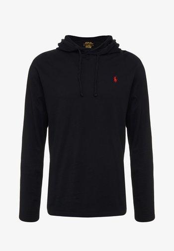 Maglietta a manica lunga - black/red
