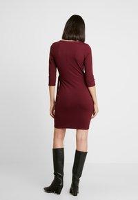 Dorothy Perkins - WRAP DRESS - Sukienka etui - purple - 3