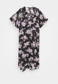 Forever New Curve - EMMA FLUTTER WRAP DRESS - Day dress - midnight bloom - 0