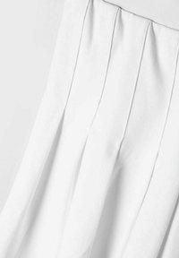 LMTD - Faltenrock - bright white - 2