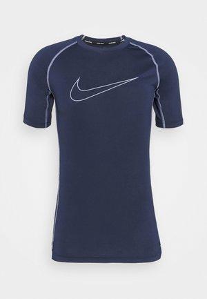 TIGHT - T-shirt imprimé - obsidian/iron purple