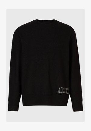 FRAME CREW JUMPER - Pullover - black