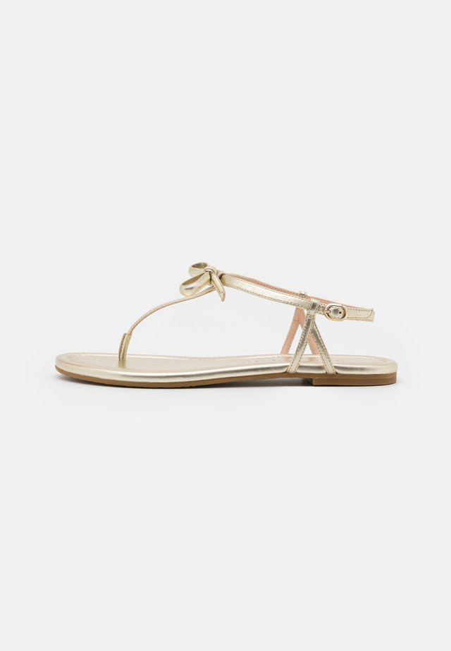PIAZZA - Teensandalen - pale gold