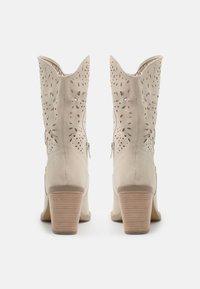Steven New York - HARPER - Cowboy/biker ankle boot - bone - 3