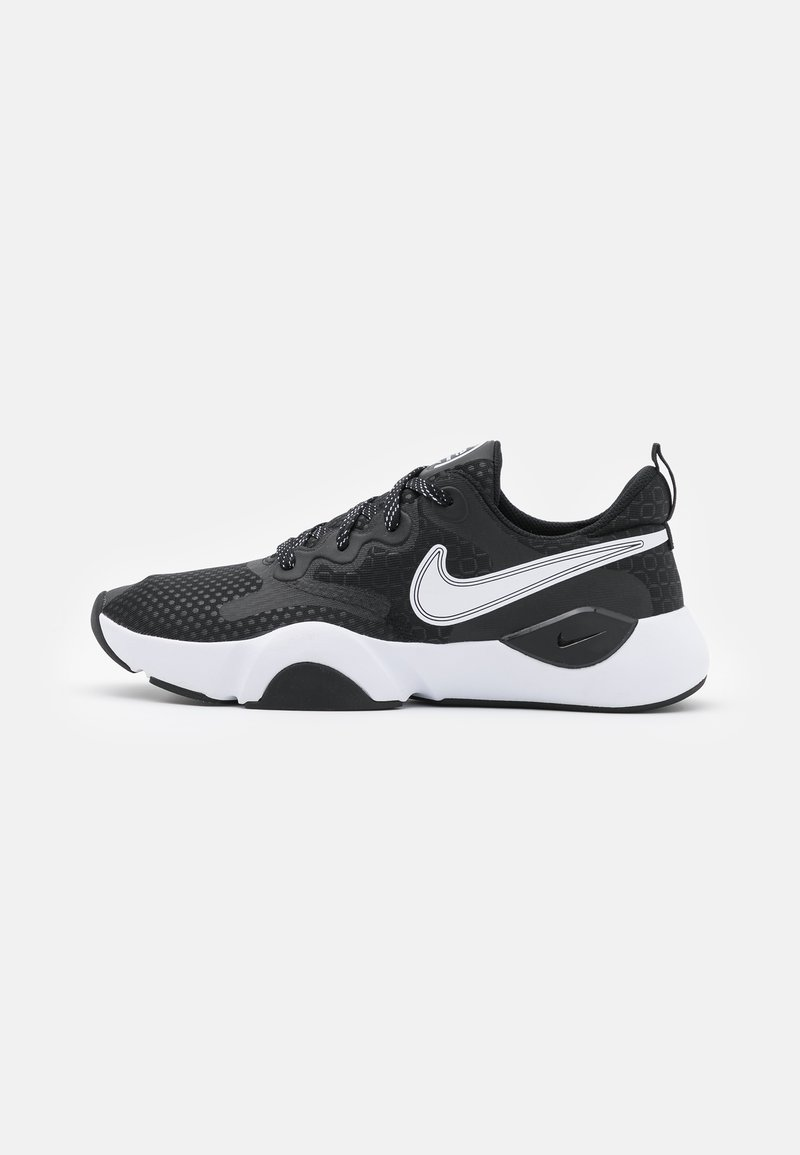 Nike Performance - SPEEDREP - Sports shoes - black/white