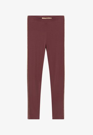 PAULA - Legging - oxblood red