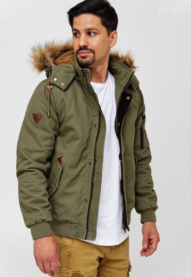Winter jacket - army